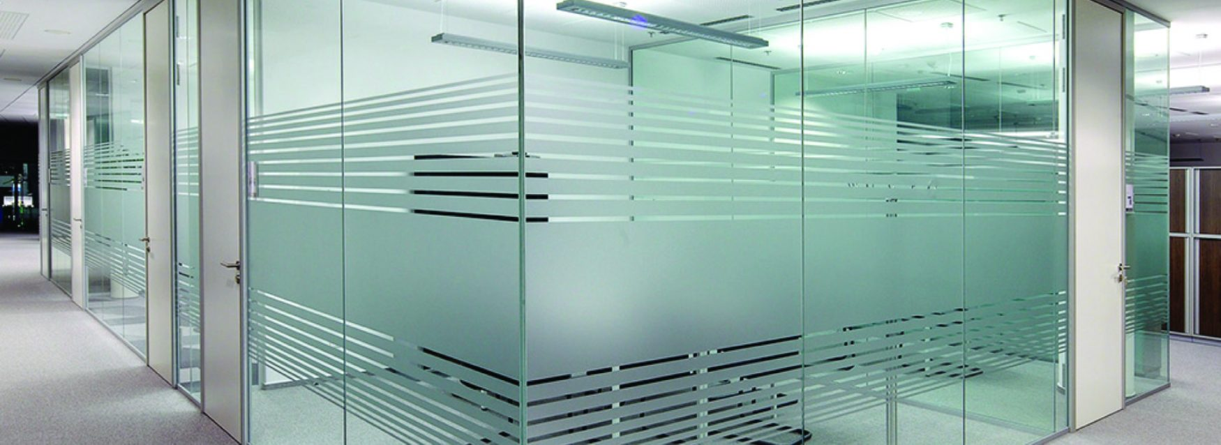 Design and Function Combined with Frosted Glass Privacy Film